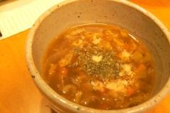 カレーの残りで★カレースープ