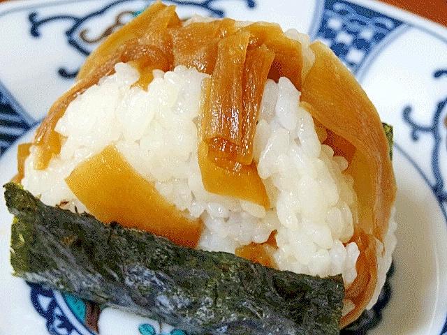 栃木県特産☆ 「かんぴょう甘辛煮のおむすび」