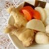鶏手羽元と野菜のおでん風