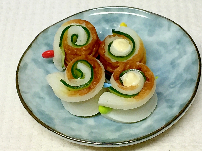 お弁当 ちくわときゅうりのクルクル♪ レシピ・作り方 by ●まかろん●|楽天レシピ