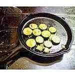 ズッキーニの輪切りチーズ焼き