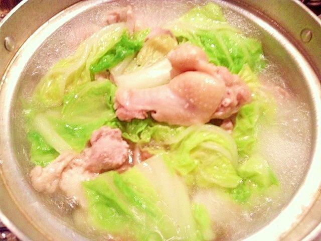 【疲労・食欲不振・冷え性・肌の乾燥対策】水炊き