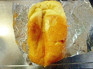 白玉粉でもちもち卵入りお餅食パン