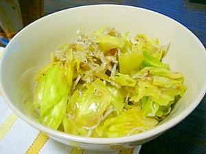 副菜に(/・ω・)/☆簡単・キャベツと雑魚サラダ
