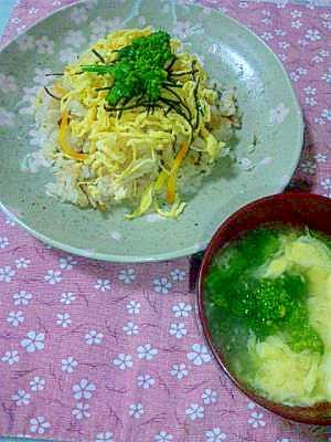 ひな祭りに♪炊飯器で簡単ちらし寿司