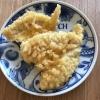 キスの天ぷらレモン風味
