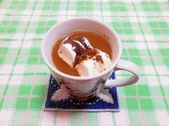 マシュマロ&ココアチョコカフェオレ