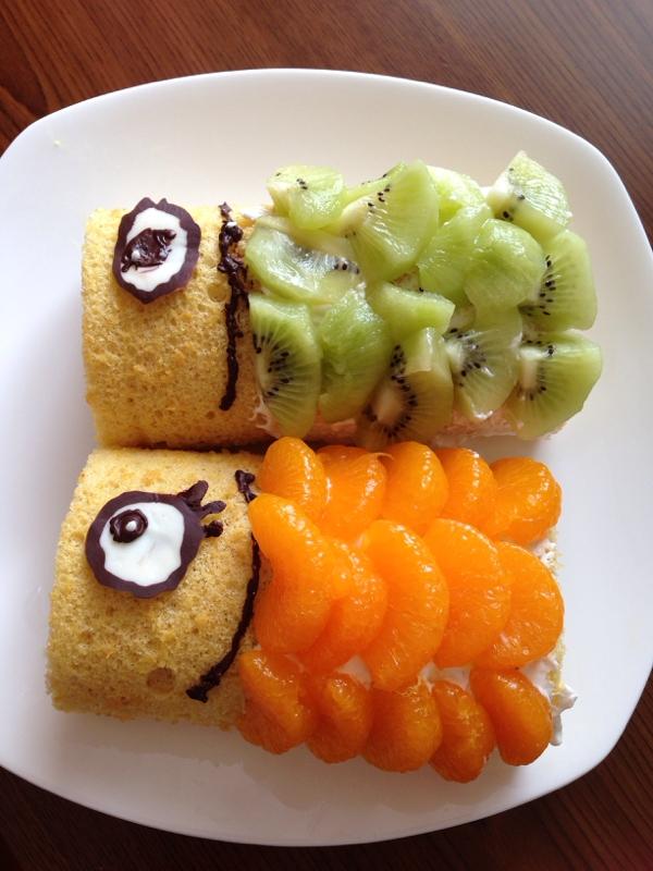 こどもの日に☆こいのぼりケーキ