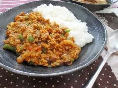 まるでお肉☆高野豆腐でドライカレー