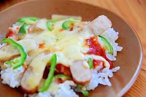 ナポリタンご飯