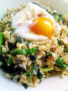 簡単!早い!ふわふわ卵とニラの炒飯☆ニラ玉炒飯☆
