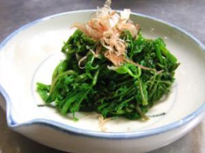 セリのおひたし☆セリの茹で方・冷凍保存法