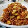 給食の味!大豆のチリコンカン