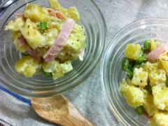 レンジで簡単★さつまいもと枝豆のサラダ