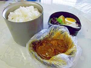 朝作れる☆カレー弁当