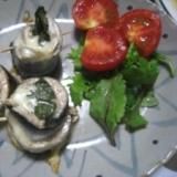 秋刀魚の紫蘇チーズ巻き