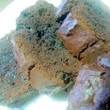 ブランデーとココアのバウンドケーキ