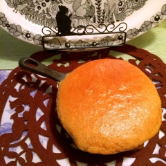 憧れのぐりとぐらビジュアルdeきな粉パンケーキ
