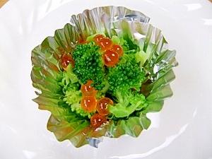 彩り綺麗☆いくらとブロッコリーのイタリアンサラダ