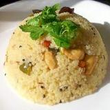 ☆南インドの軽食・ウプマー☆
