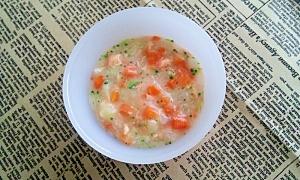 離乳食【後期】 鮭のクリームシチュー