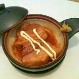 辛子マヨの煮豚(クック膳とコチュジャンで)