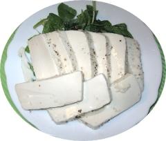 えごま油で食べる塩麹豆腐