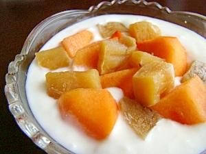 芋柿ちゃんのヨーグルト