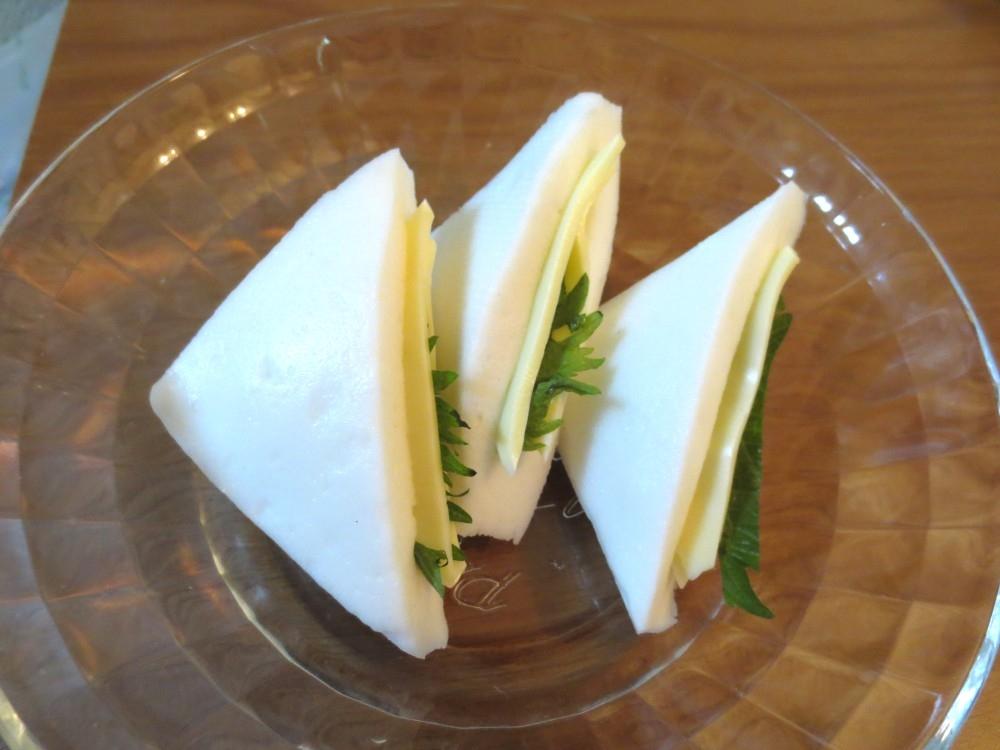 はんぺんポケットにチーズ入♪和風チーズはんぺん