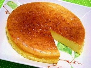 手作りカッテージチーズとHMで☆チーズケーキ☆