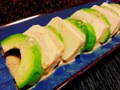 塩漬け豆腐とアボカドのサラダ★ クリ~ミ~♪