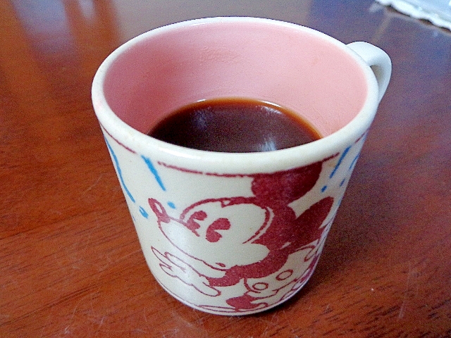 大人の♪おしるコーヒー葛湯