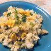 高菜漬けで卵チャーハン