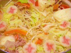 スープが旨っ☆ヘルシーちゃんぽん鍋 レシピ・作り方 by ブルーボリジ|楽天レシピ
