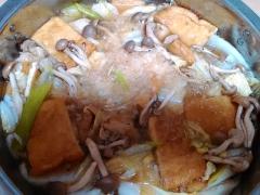 ★油揚げと鶏もも肉の香ばしみぞれ鍋★