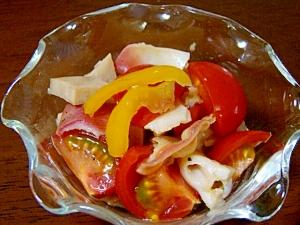 ホッキ貝&トマト&蓮根のピクルスサラダ