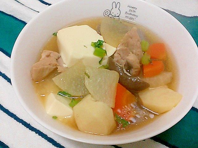 ホッコリ♪けんちん汁 レシピ・作り方 by かっぺ4217|楽天レシピ