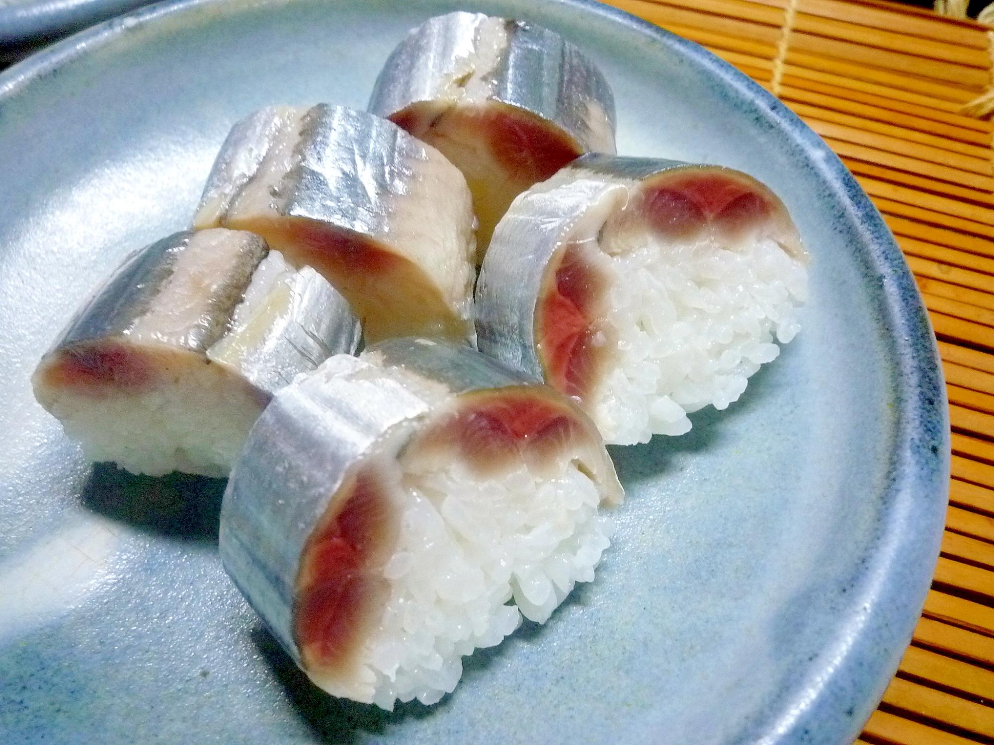 生さんまを楽しむ さんま棒寿司 さんま酢締め