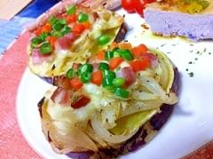 薩摩芋のおつまみタルティーヌ
