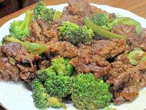 牛肉と野菜のオイスターソース炒め (我が家の味)