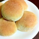 ☆やさしい甘さの全粒粉はちみつパン☆