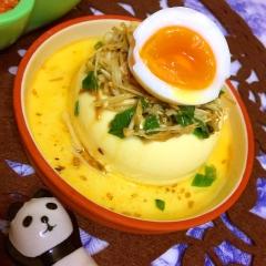 えのきナムルのせ ピリ辛おぼろ豆腐