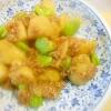★新じゃが芋とそら豆の豚挽肉の餡かけ煮☆