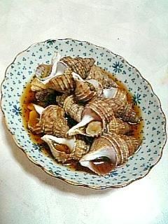 ☆つぶ貝の煮付け☆