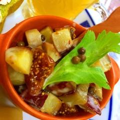 薩摩芋といちじくのプチコロ温サラダ