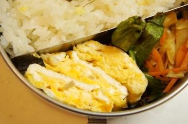 弁当救世主伝説265、ほっき貝の出汁巻き卵