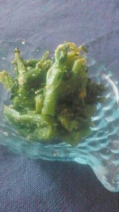 冷凍ブロッコリー◆すりごま和え