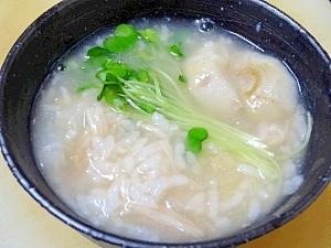 朝の薬膳☆ 胃腸をいたわる「芋雑炊」
