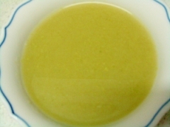 冷凍ブロッコリーのポタージュ(スープメーカー使用)