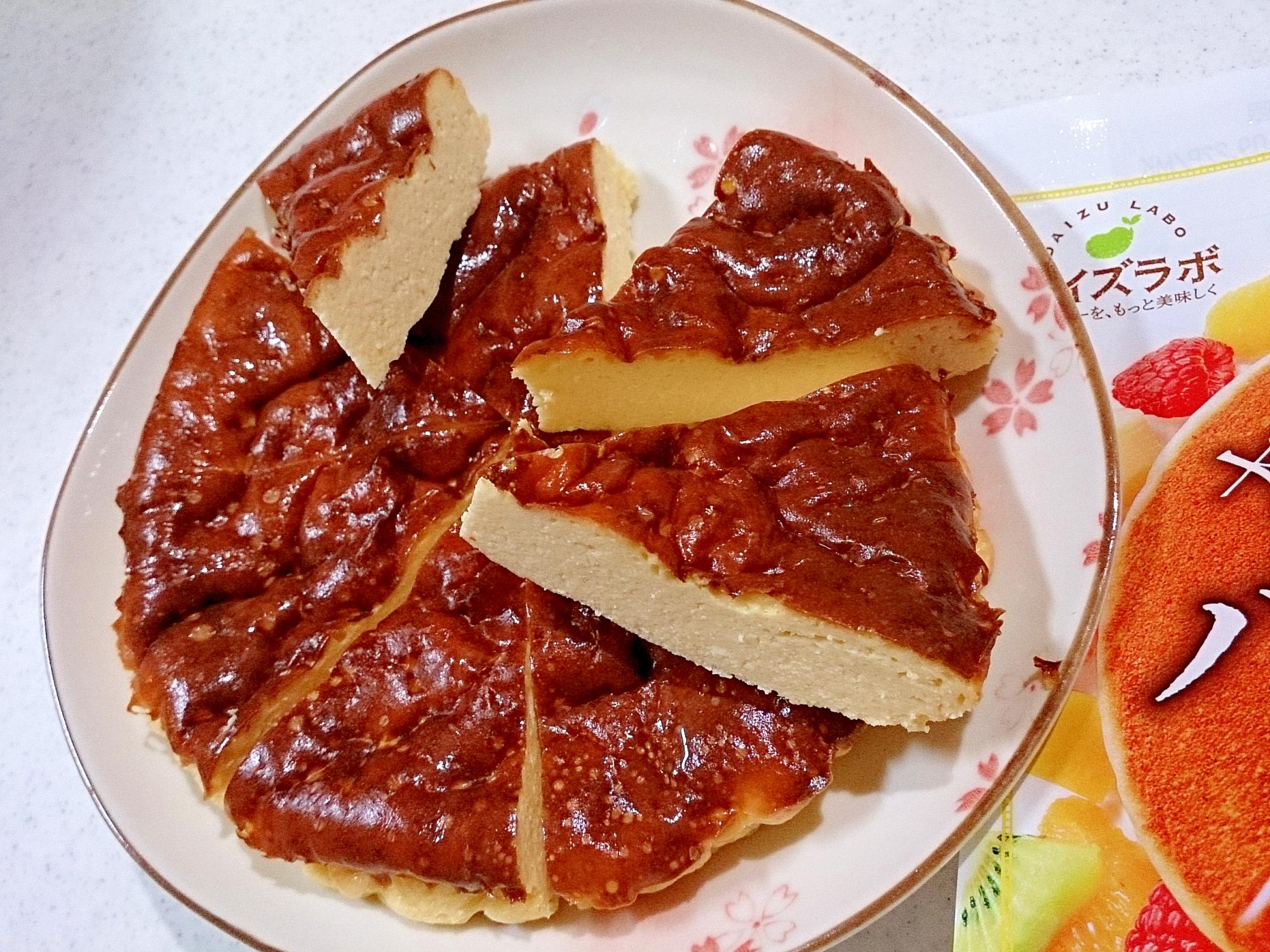 大豆粉いりベイクドチーズケーキ(ノンフライヤー)